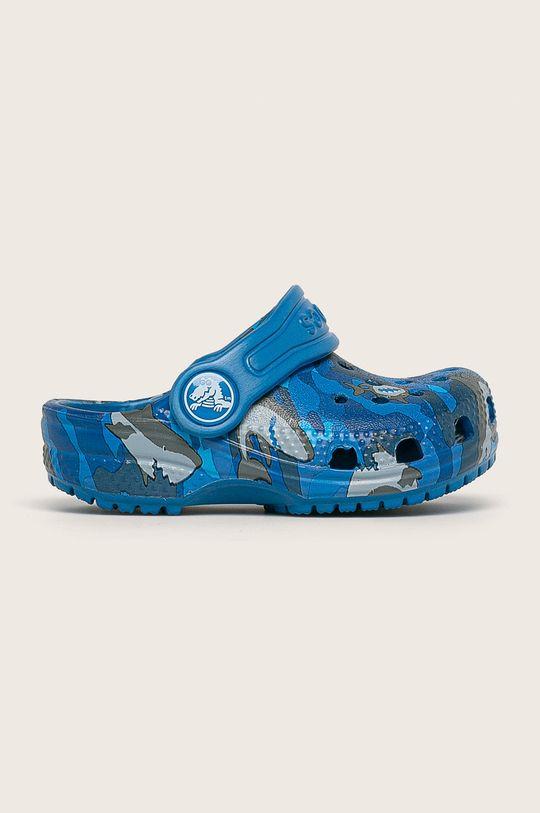 modrá Crocs - Detské šľapky Chlapčenský