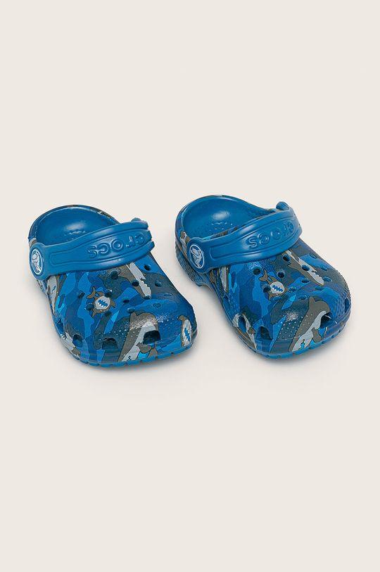 Crocs - Detské šľapky modrá