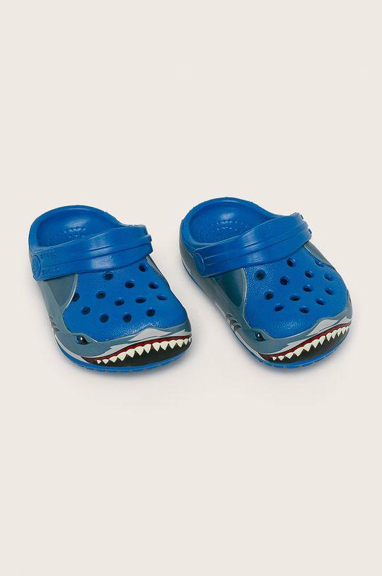 Crocs - Детски чехли син