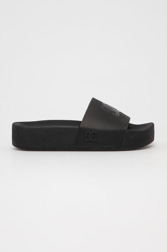 černá Dc - Pantofle Dámský
