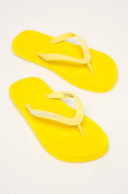 Emporio Armani - Žabky žltá