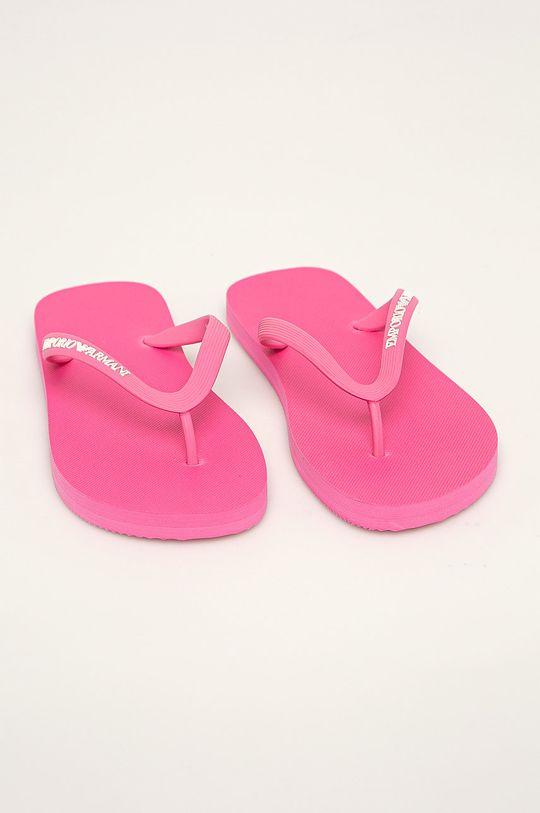 Emporio Armani - Slapi roz ascutit