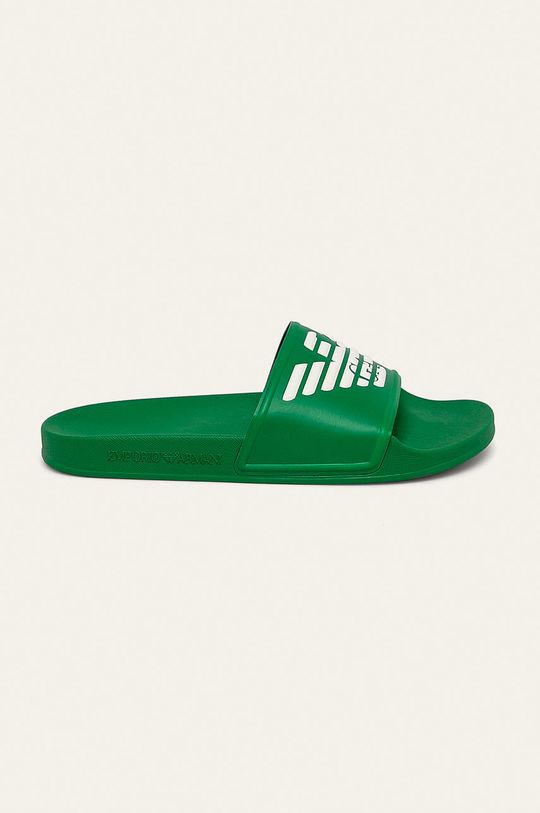 zelená Emporio Armani - Šľapky Dámsky
