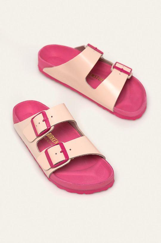 Birkenstock - Kožené pantofle Arizona EXQ růžová