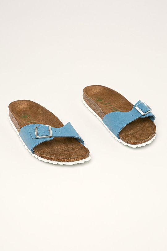 Birkenstock - Pantofle Madrid modrá