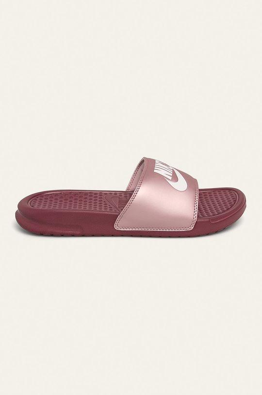 fialová Nike Sportswear - Pantofle Dámský