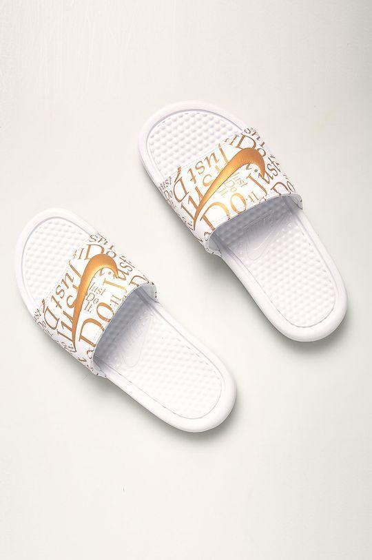 Nike Sportswear - Pantofle bílá