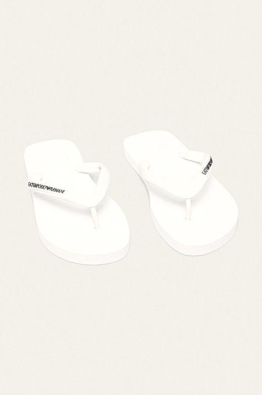 EA7 Emporio Armani - Japonki biały