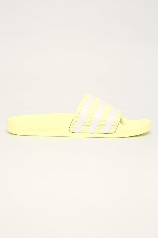 žltá adidas Originals - Šľapky Adilette Dámsky