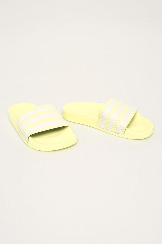 adidas Originals - Papuci Adilette galben