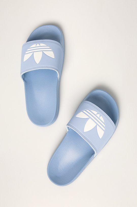 světle modrá adidas Originals - Pantofle