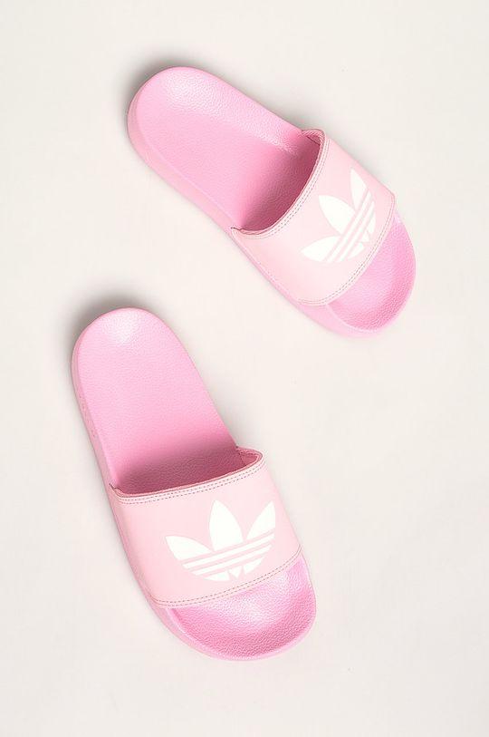 růžová adidas Originals - Pantofle