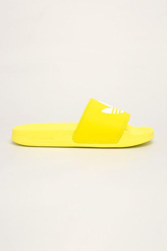 žlutá adidas Originals - Pantofle Dámský