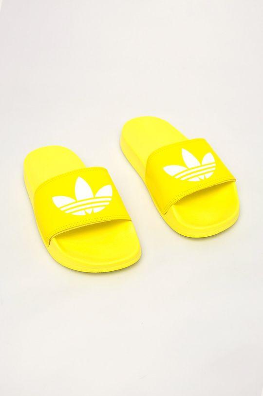 adidas Originals - Pantofle žlutá