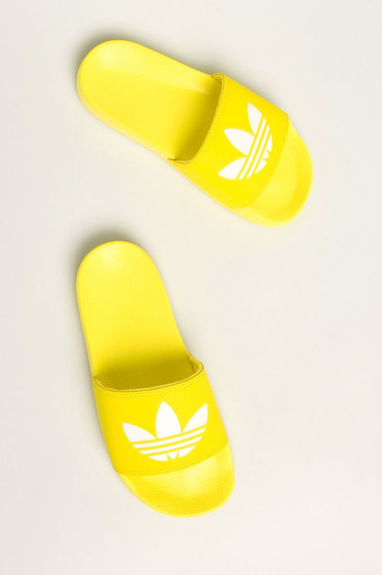žlutá adidas Originals - Pantofle