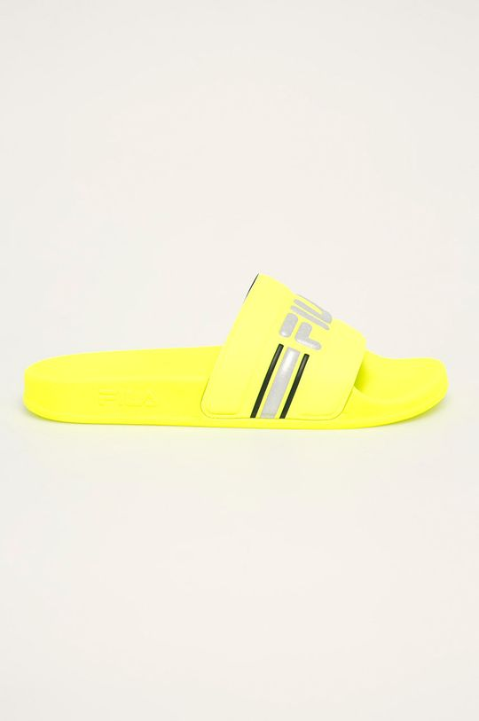 žlutá Fila - Pantofle Oceano Neon Dámský