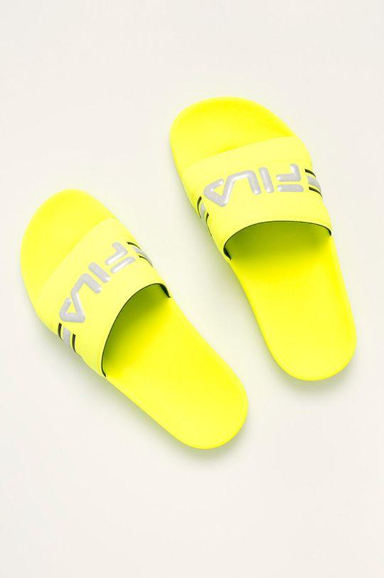 Fila - Pantofle Oceano Neon žlutá