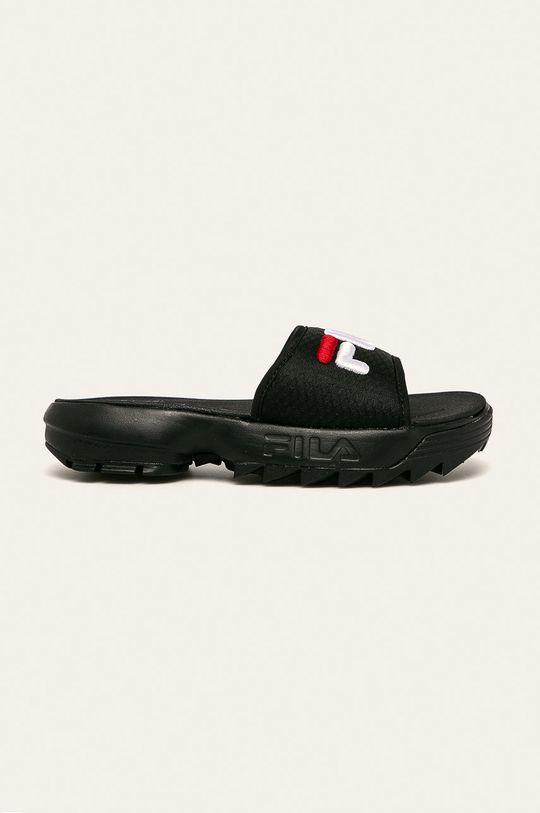 negru Fila - Papuci Disruptor Slide De femei
