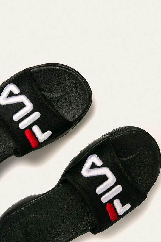 czarny Fila - Klapki Disruptor Slide