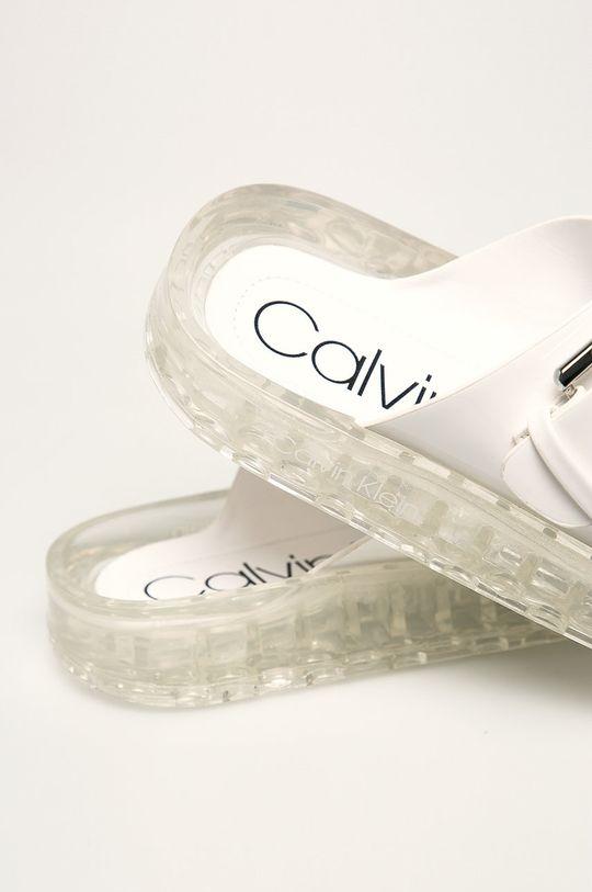 Calvin Klein - Pantofle Umělá hmota