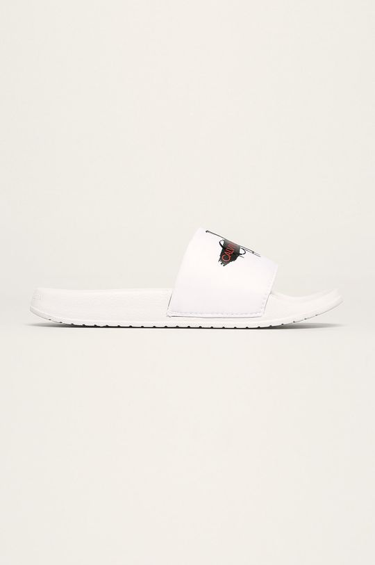 biela Calvin Klein Jeans - Šľapky Dámsky