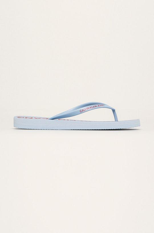 modrá Calvin Klein Jeans - Žabky Dámsky