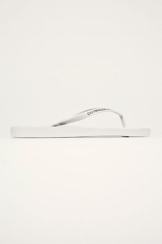 biela Calvin Klein Jeans - Žabky Dámsky