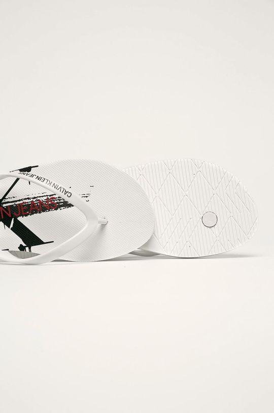 Calvin Klein Jeans - Žabky  Syntetická látka
