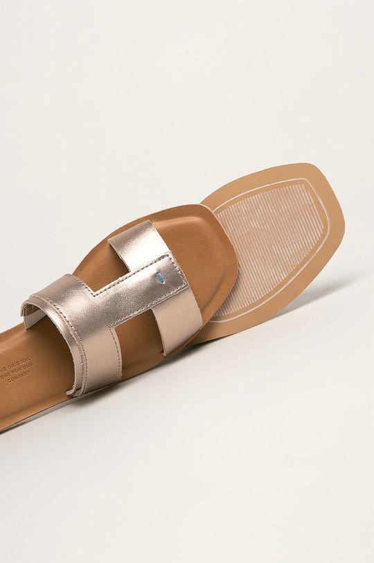Toms - Kožené šľapky Seacliff  Zvršok: Prírodná koža Vnútro: Textil Podrážka: Syntetická látka