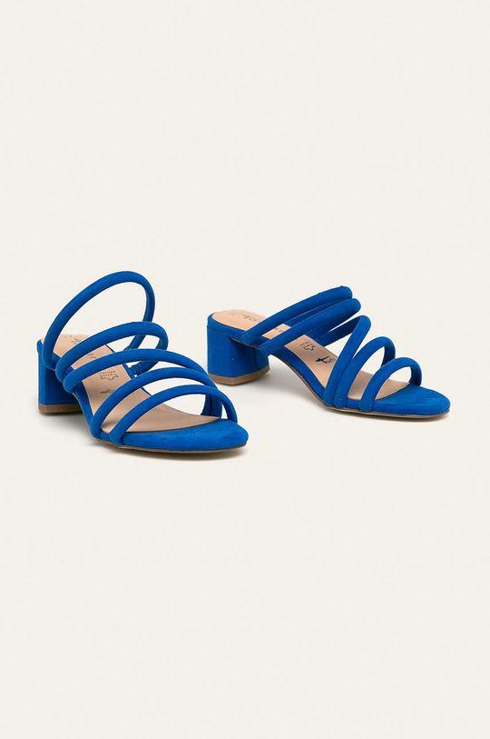 Tamaris - Papuci albastru