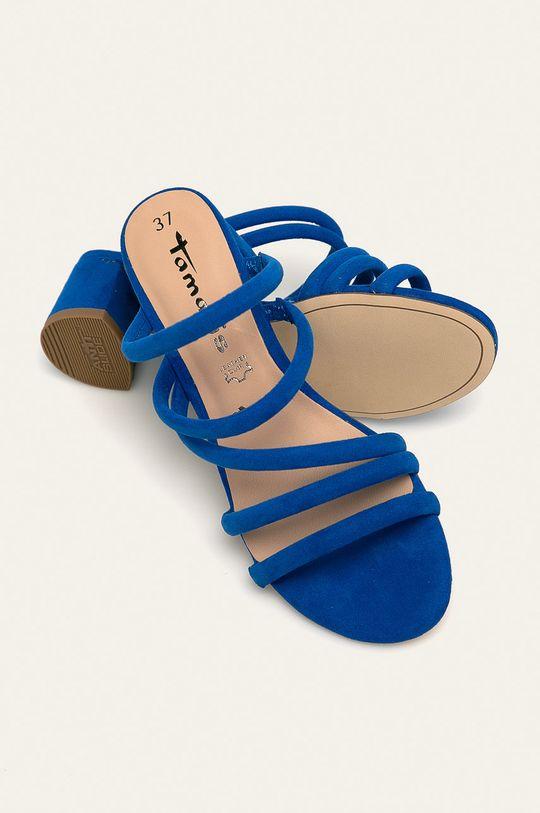 albastru Tamaris - Papuci
