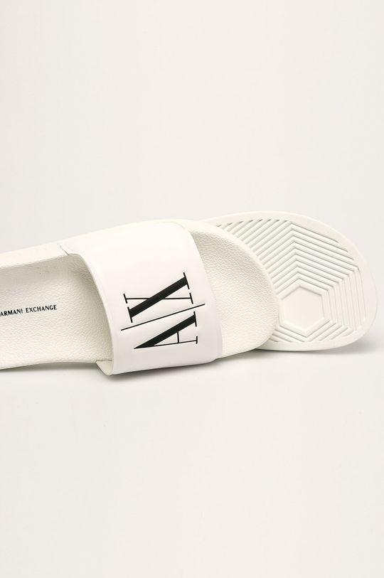 Armani Exchange - Pantofle Umělá hmota