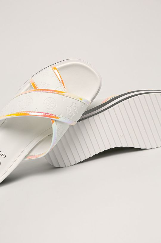 biela Guess Jeans - Šľapky