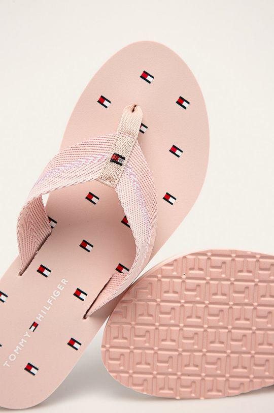 różowy Tommy Hilfiger - Japonki