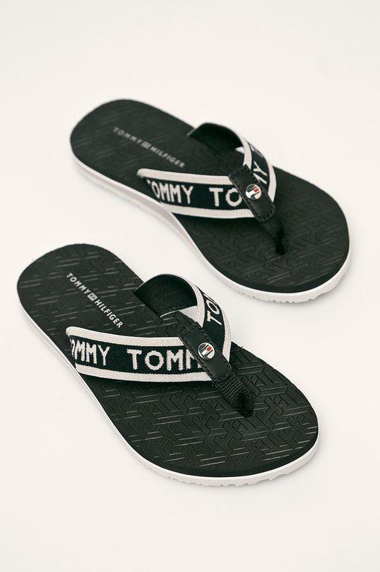 Tommy Hilfiger - Žabky čierna