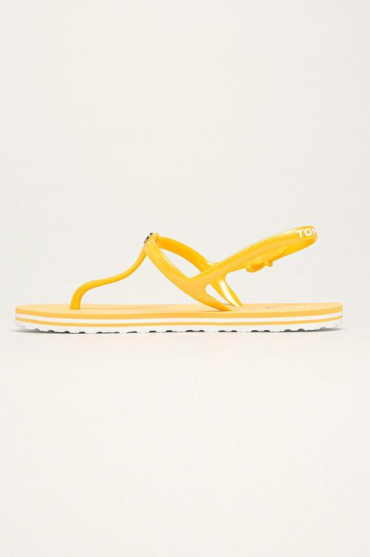 Tommy Hilfiger - Sandały jasny żółty