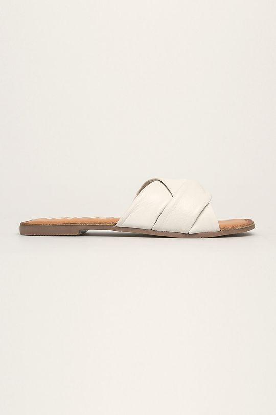 biela Gioseppo - Kožené šľapky Dámsky