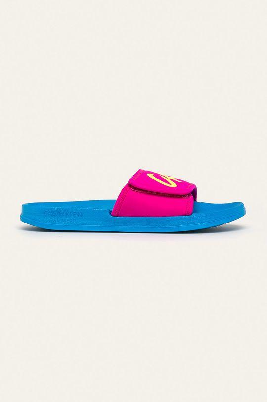 modrá Calvin Klein Underwear - Šľapky Dámsky