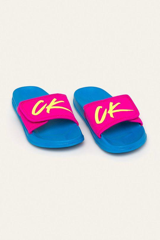 Calvin Klein Underwear - Šľapky modrá