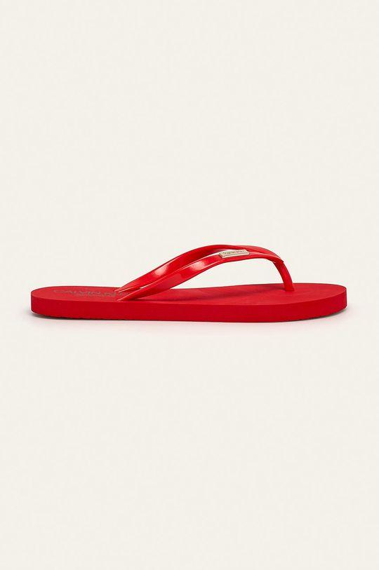 červená Calvin Klein Underwear - žabky Dámský