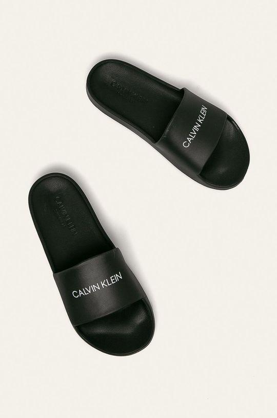 Calvin Klein Underwear - Pantofle Umělá hmota