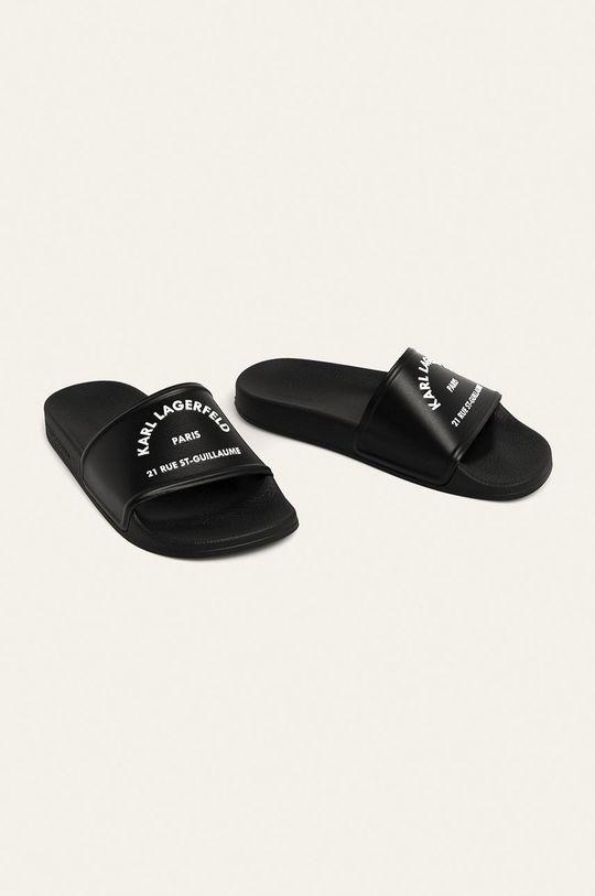 Karl Lagerfeld - Klapki czarny