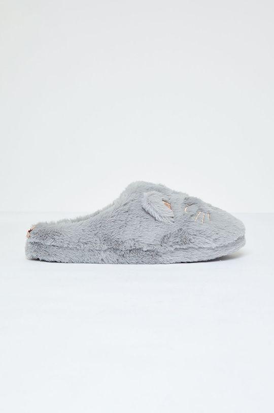 sivá Etam - Papuče Mousse Dámsky
