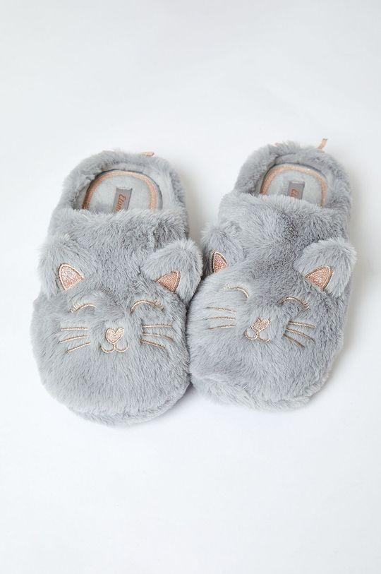 sivá Etam - Papuče Mousse