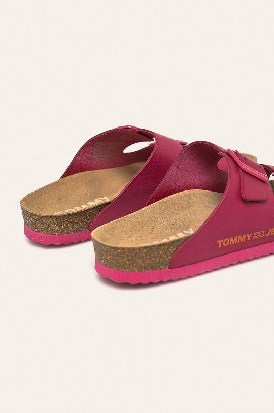Tommy Jeans - Kožené šľapky  Zvršok: Prírodná koža Vnútro: Prírodná koža Podrážka: Syntetická látka