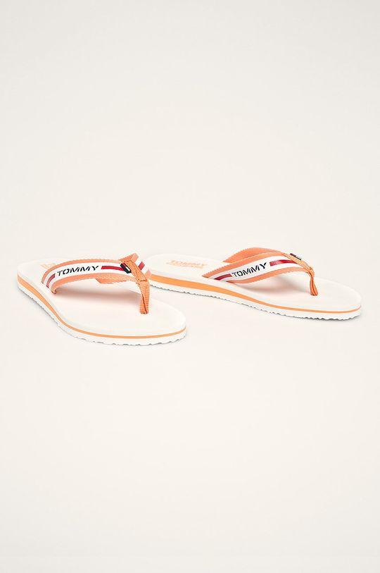 Tommy Jeans - Žabky oranžová