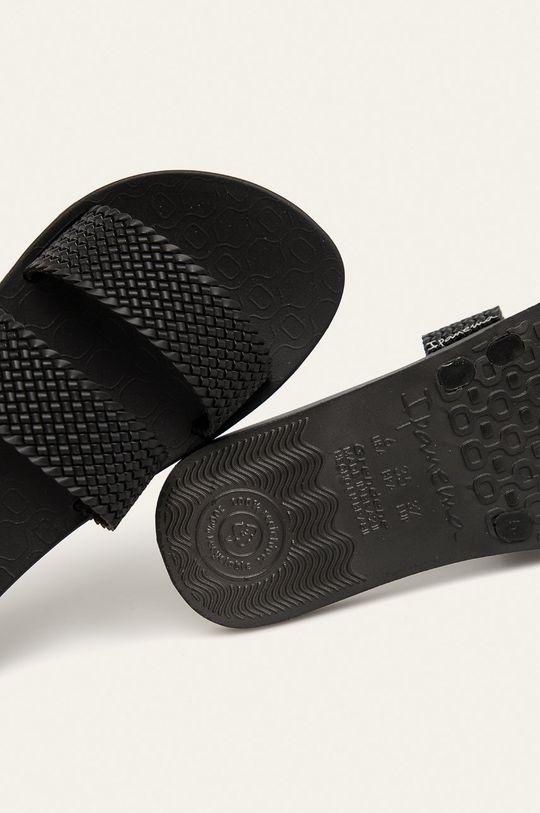 čierna Ipanema - Šľapky