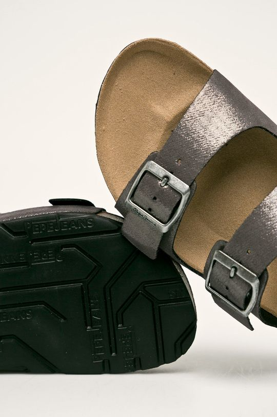 Pepe Jeans - Papuci Oban Remake Gamba: Material sintetic Interiorul: Material sintetic, Material textil Talpa: Material sintetic