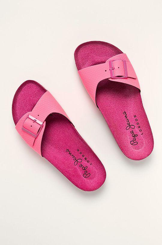 Pepe Jeans - Papuci Oban Surf roz ascutit