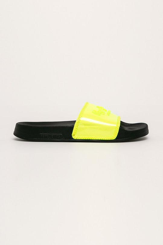 svetložltá Pepe Jeans - Šľapky Dámsky